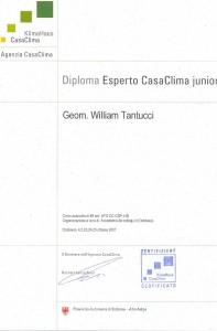Casa Clima - Diploma Esperto