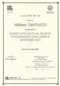 Università di Brescia - Rilievo topografico con Laser