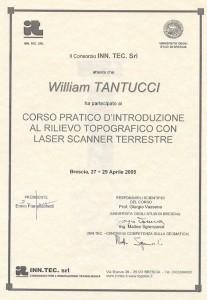Universita di Brescia - Rilievo topografico con Laser scanner terrestre