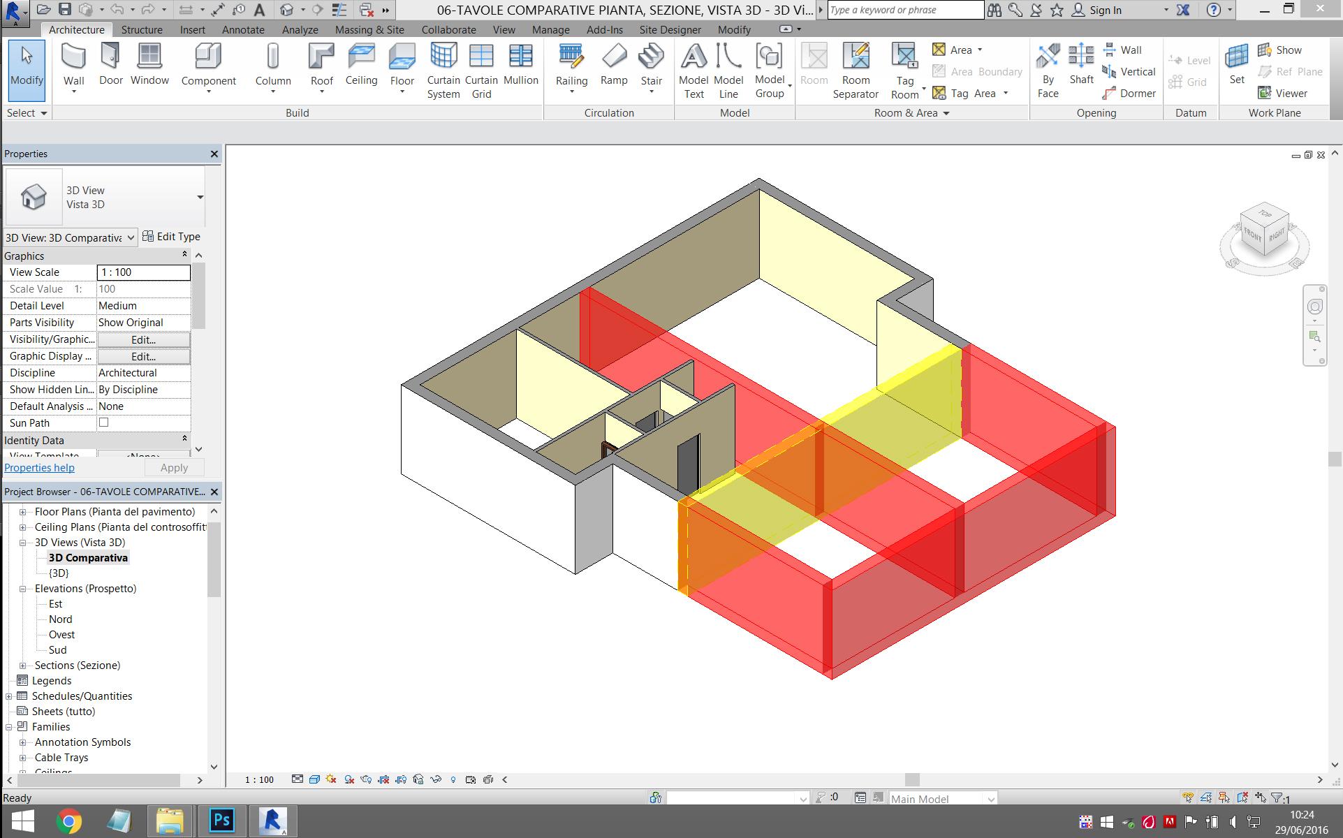 Progettazione revit studio tecnico tantucci for Programma progettazione